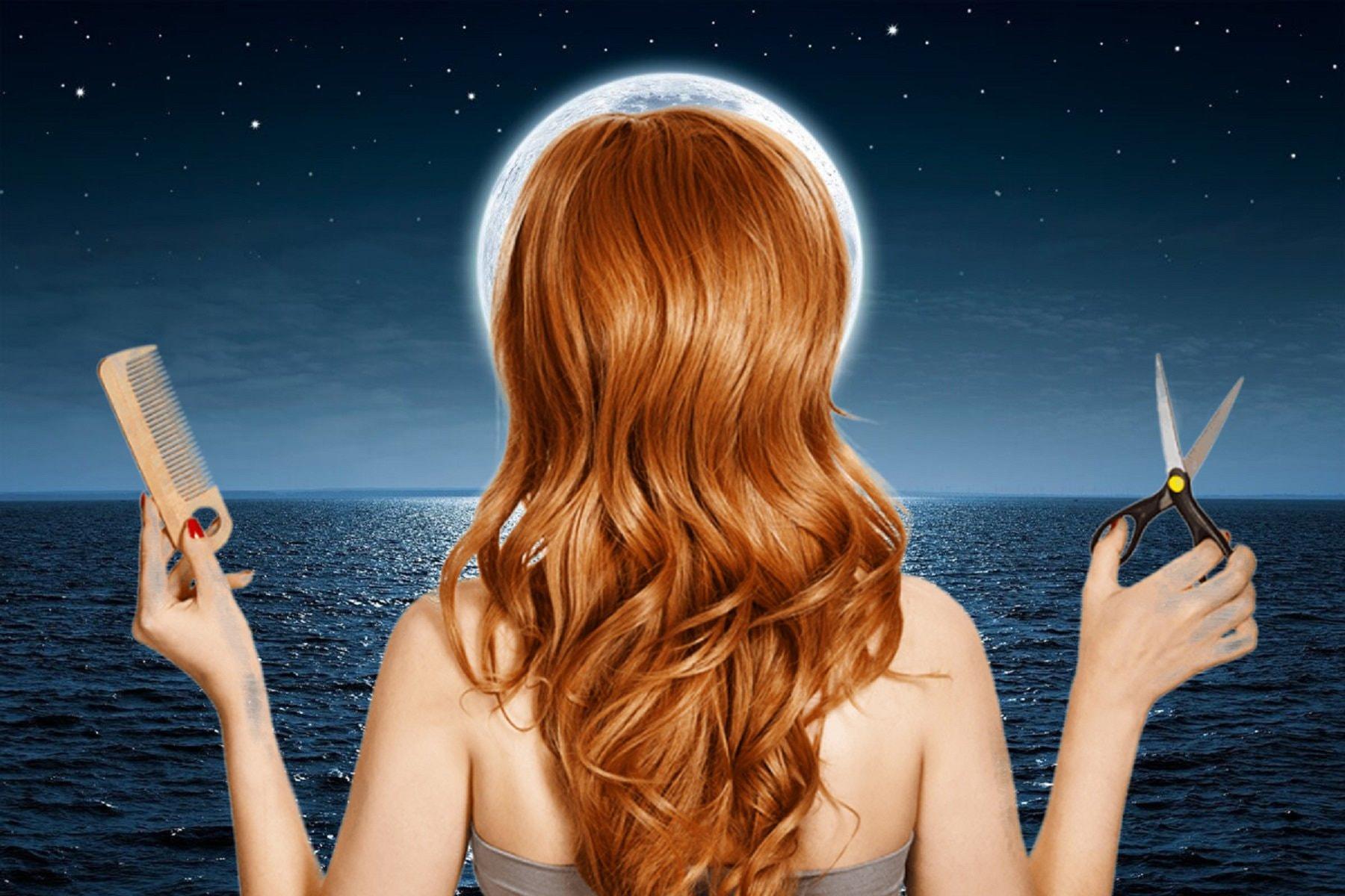 Красивая стрижка по лунному календарю в салоне красоты